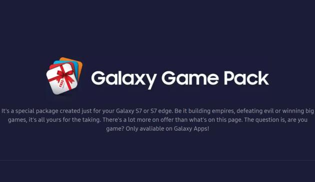 Game Pack: contenuti di giochi freemium in regalo ai possessori di Galaxy S7