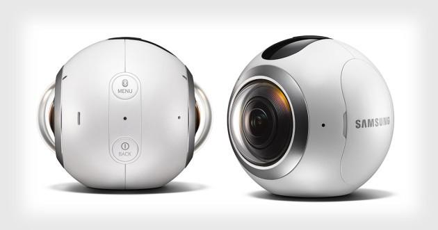 Samsung Gear 360 riceve un aggiornamento software