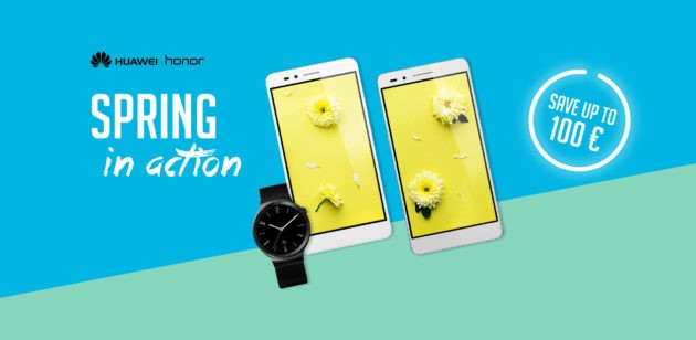 vMall lancia i saldi di primavera: -100€ su Huawei Watch e altri sconti