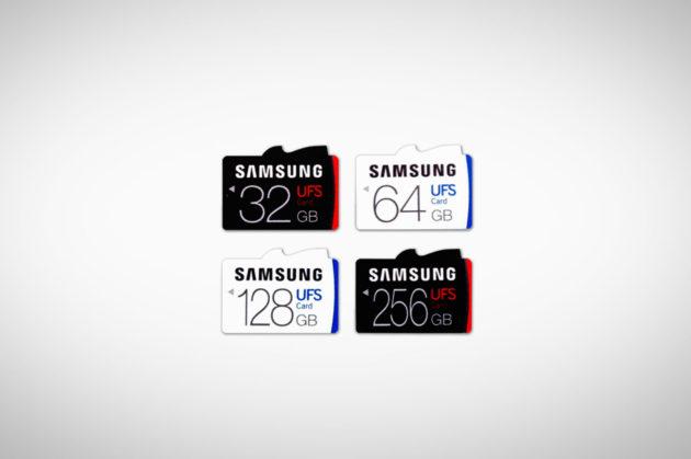 Samsung annuncia le memory card UFS, cinque volte più veloci delle microSD