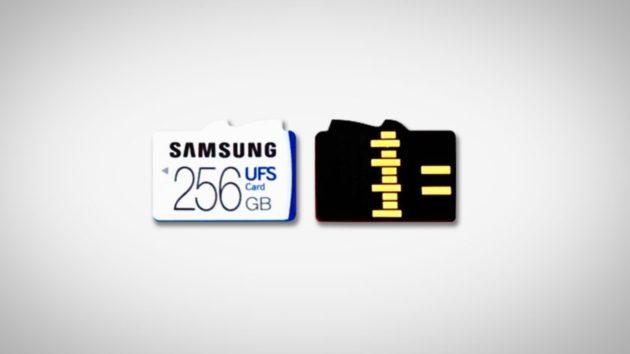 Samsung al lavoro su uno slot compatibile con UFS e microSD