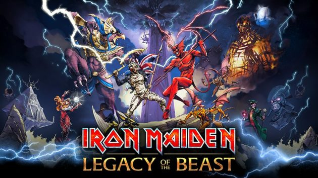 Iron Maiden: Legacy of the Beast disponibile su Play Store