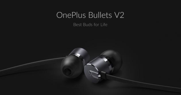 OnePlus: presentati oggi i nuovi auricolari Bullets V2