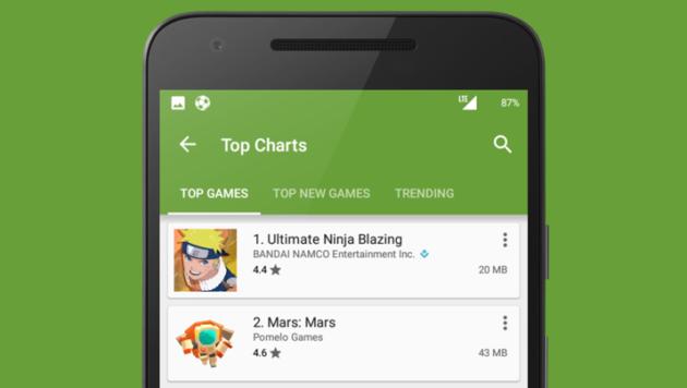 Play Store: la dimensione delle app sarà indicata nei risultati di ricerca