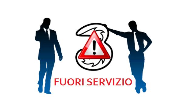 3 Italia: gli utenti segnalano diversi problemi di rete