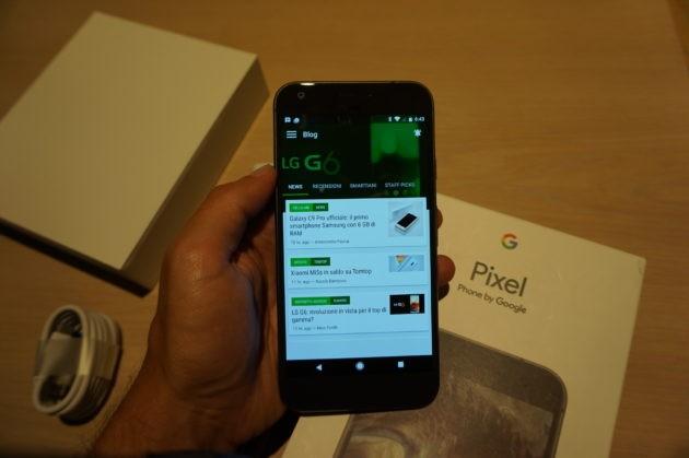Google Pixel XL: unboxing e primo contatto