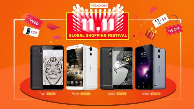Ulefone e Aliexpress: Global Shopping Festival