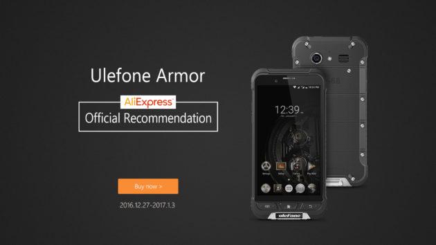 Ulefone Armor in sconto su AliExpress