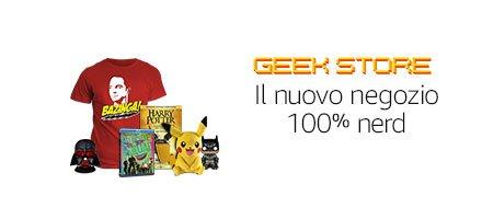 Amazon Geek Store, ecco il nuovo shop online a prova di nerd