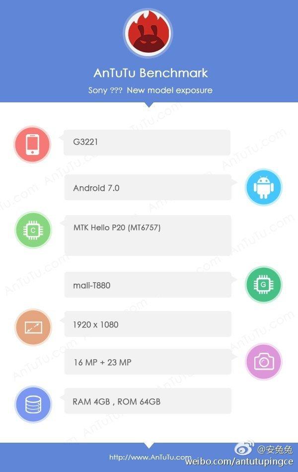 Sony Xperia G3221
