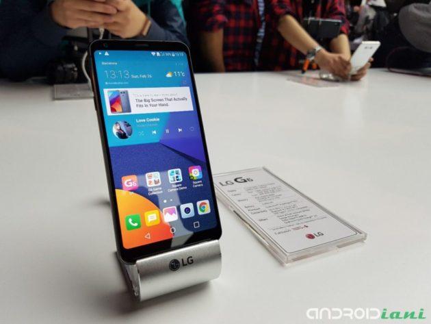 LG G6 disponibile al preordine su Amazon.it a 749€
