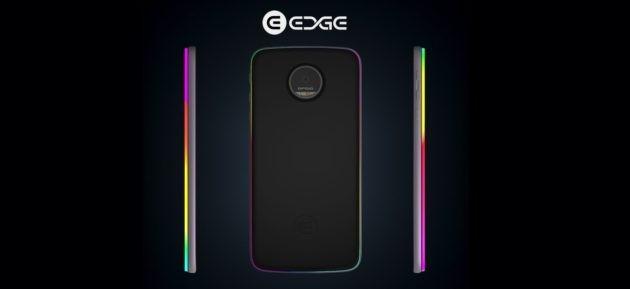 Edge Mod porta su Moto Z le notifiche luminose, una batteria supplementare e la ricarica wireless