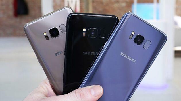Galaxy S9 non avrà un sensore di impronte sotto lo schermo
