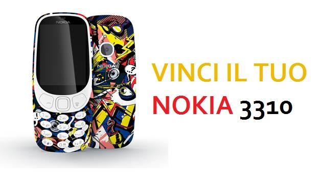 Nokia 3310: puoi vincerlo disegnandone la tua personalissima versione - CONCORSO