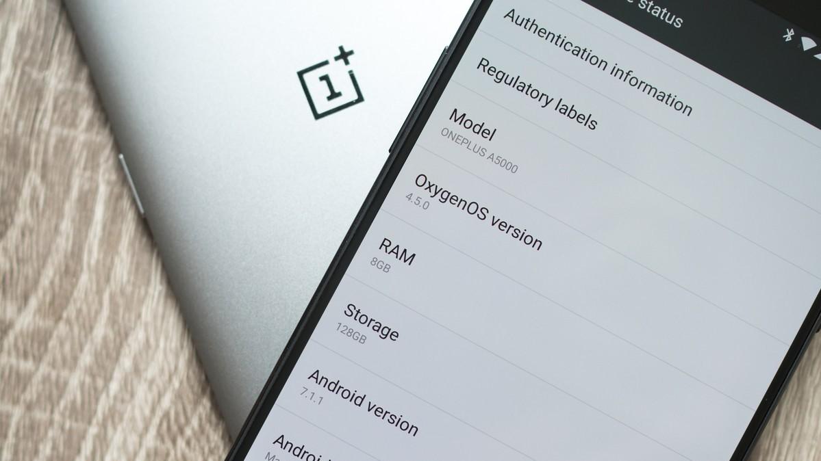 OnePlus 5: Apakah jeli menggulirkan konsekuensi dari tampilan terbalik? 1