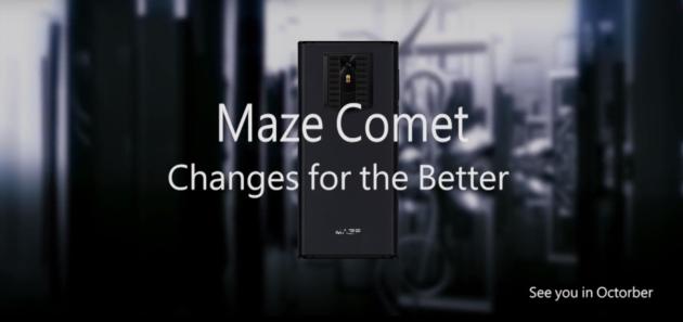 Maze Comet si mostra in un nuovo video