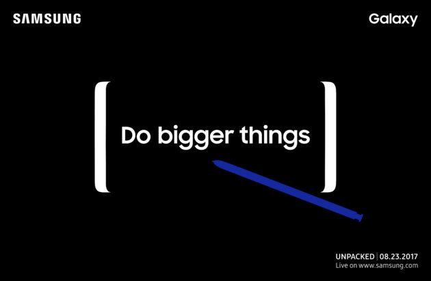 Samsung Galaxy Note 8: segui la diretta video dell'evento