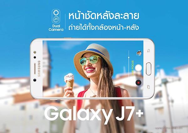 Samsung Galaxy J7+: midrange con dual camera