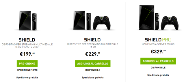 Nvidia Shield TV: breve storia triste