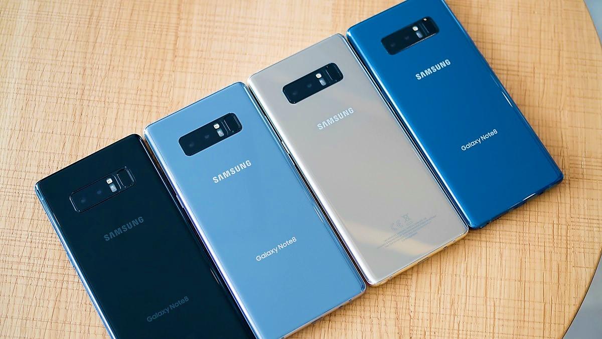 Samsung Galaxy Note 8 boom di vendite in Corea durante il primo weekend