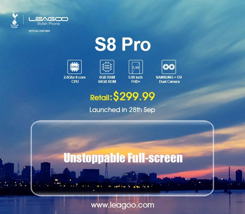 Samsung Galaxy S8 ed S8 Plus hanno ispirato i nuovi Leagoo S8 ed S8 Pro
