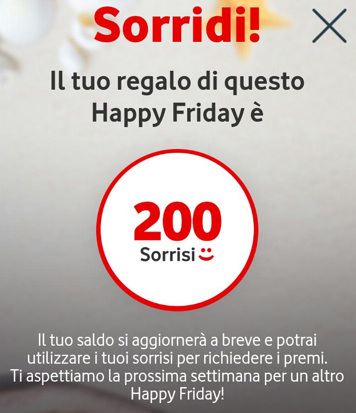 Vodafone Happy Friday ecco il regalo di questa settimana (2)