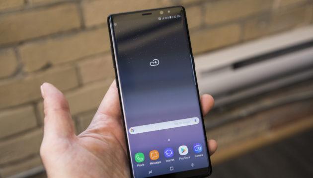 Note 8: Android Oreo arriva su alcune unità