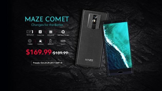 Maze Comet: presale a soli $169.99