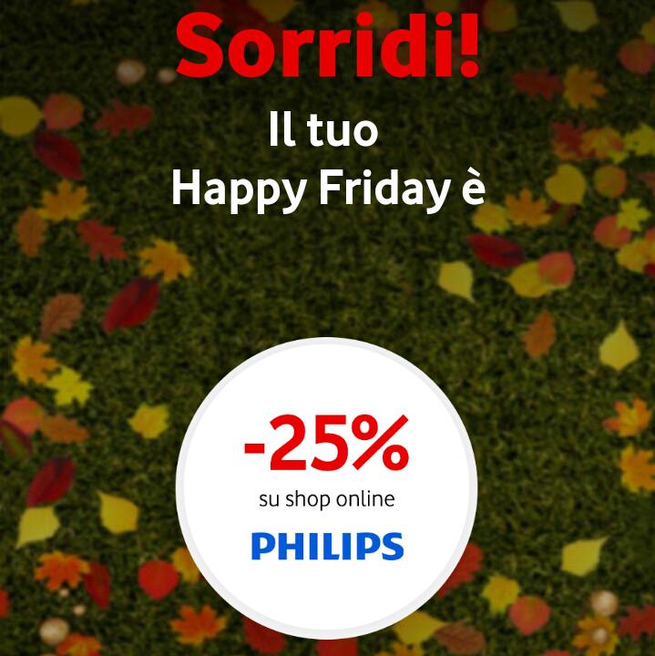 Vodafone Happy Friday il regalo di questa settimana – 131017