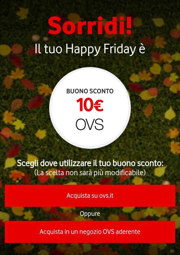 Vodafone Happy Friday il regalo di questa settimana – 201017
