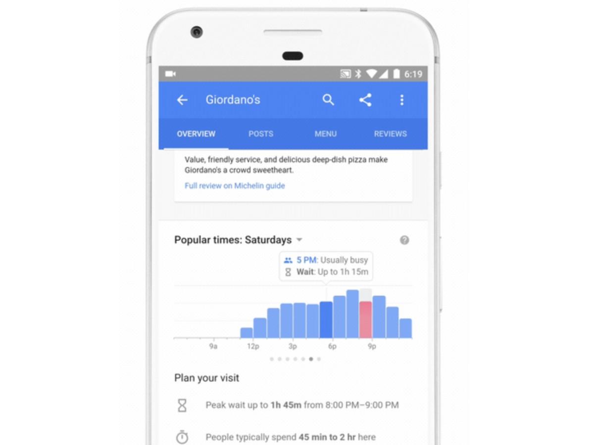 google search con tempi di attesa