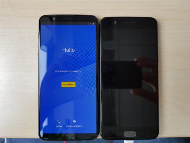 OnePlus 5T si mostra nelle prime foto dal vivo