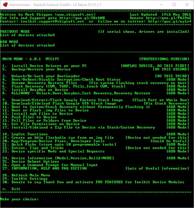 toolkit per sblocco bootloader del Pixel 2 XL