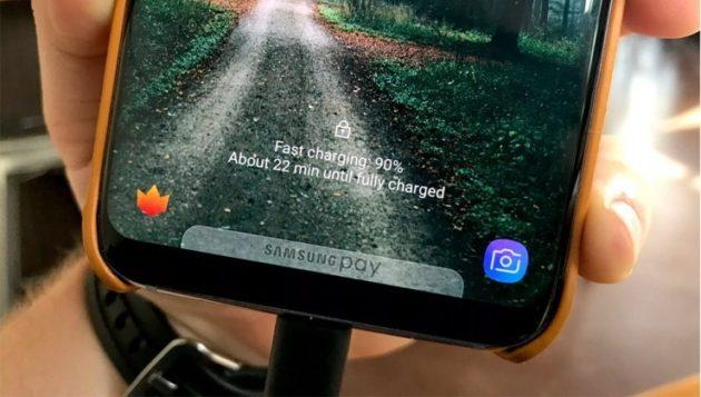 Galaxy S8 ed S8 Plus: problemi con la ricarica rapida