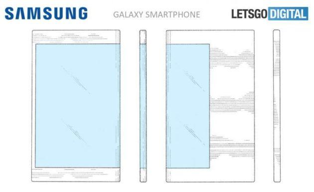 Samsung: ecco come potrebbe essere lo smartphone pieghevole