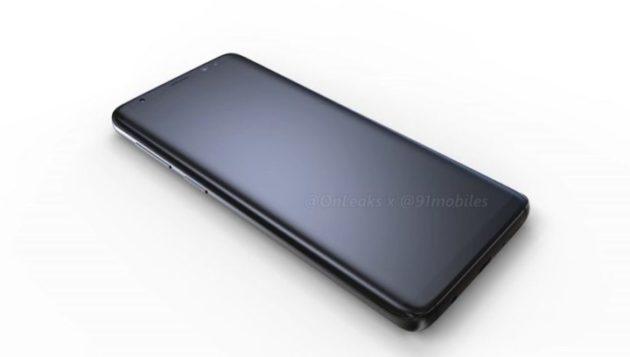 Galaxy S9 e S9+: nuovi video render