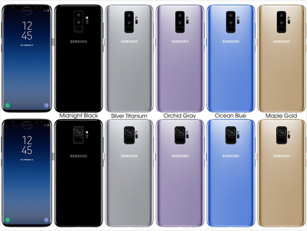 Galaxy S9: foto del pannello posteriore con fotocamera singola