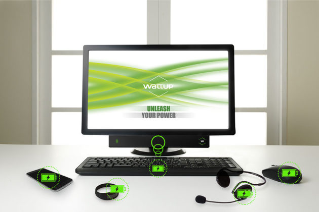WattUp: ricarica wireless fino a 90cm di distanza