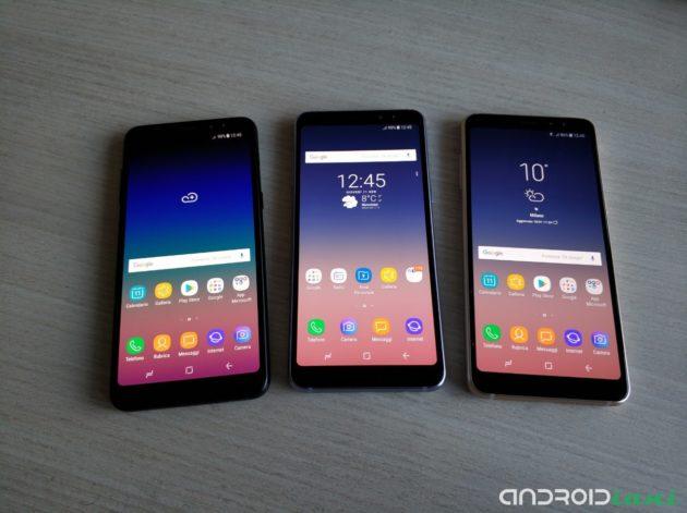 Samsung Galaxy A8 2018 in anteprima foto, con prezzo e disponibilità in Italia