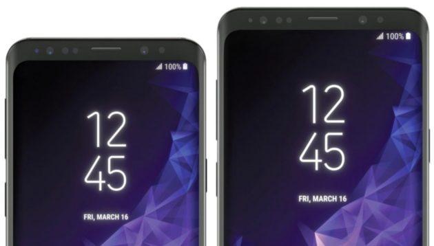 Galaxy S9+: disegni CAD a confronto con Galaxy S8+