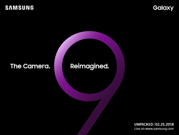 Samsung Galaxy S9: presentazione il 25/02 al MWC 2018