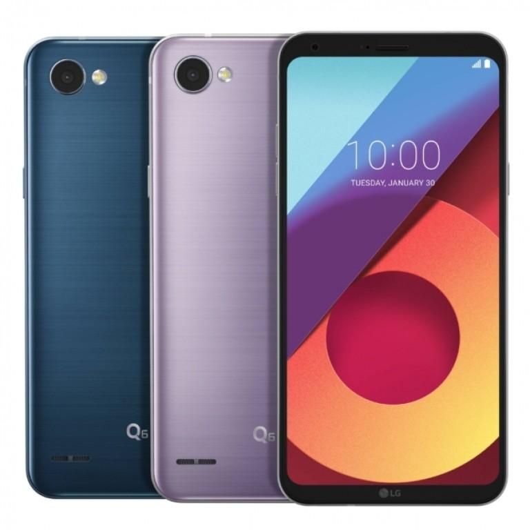 LG q6 colorazioni