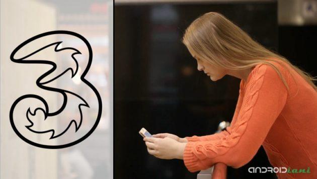 Tre ALL-IN Master Digital vi offre minuti illimitati, 1000 SMS e 30GB