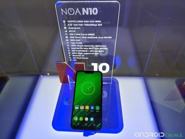 [MWC 2018] Noa presenta tre nuovi smartphone: N1, N7 e N10