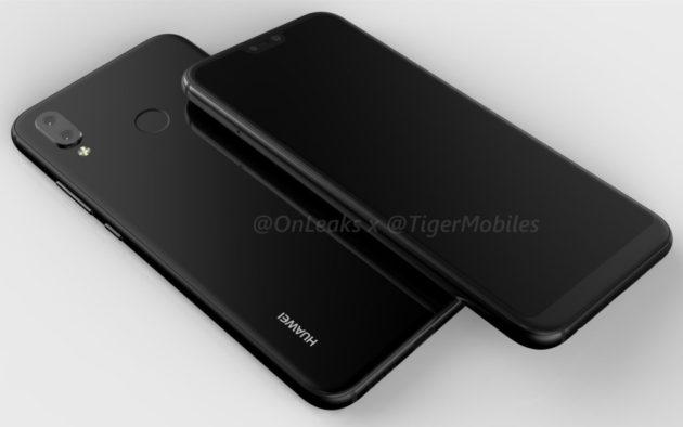 Huawei P20 Lite, pubblicati render video e immagini