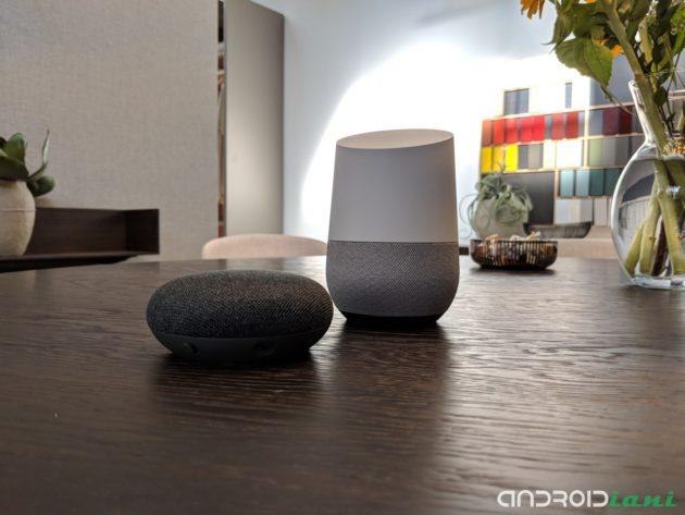 Google Home e Home mini ufficiali in Italia [ANTEPRIMA HANDS-ON]
