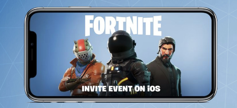 Fortnite Mobile per iOS