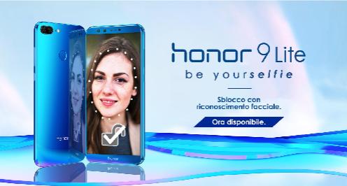 Honor 9 Lite, in arrivo il riconoscimento facciale