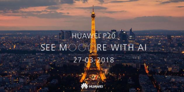 Huawei P20 Pro e P20, la presentazione in live streaming