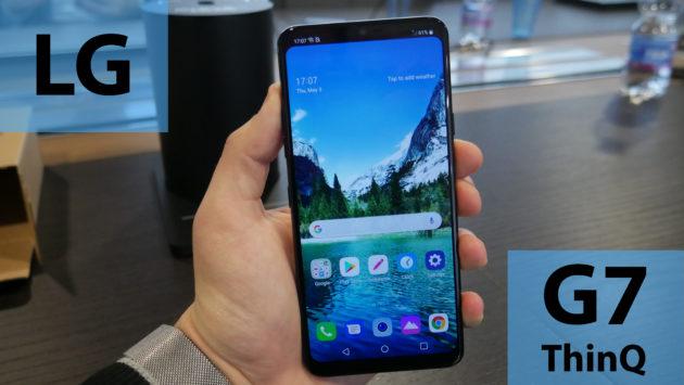LG G7 ThinQ: prime impressioni e foto del nuovo top di gamma